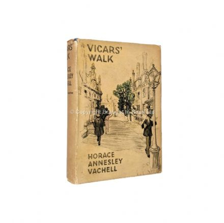 Vicars' Walk by Horace Annesley First Edition Hodder & Stoughton 1933